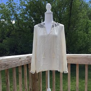 New Lucky Brand Peasant Top